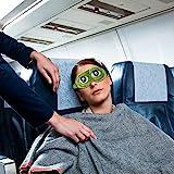 Schlafmaske Augenbinde Augenklappe Kreative Cartoon Frosch Augenmaske Augenabdeckung Flaum Cute Augenmaske - 2