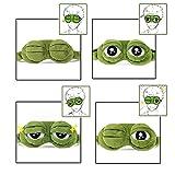 Schlafmaske Augenbinde Augenklappe Kreative Cartoon Frosch Augenmaske Augenabdeckung Flaum Cute Augenmaske - 4