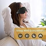 Schlafmaske, Unimi verbesserte 3D konturierte schlafbrille & Augenmaske, 100% lichtblockierende hlafbrille für Frauen und Männer, Augenbinde zum Schlafen, für Reisen, Yoga und Meditation - 5